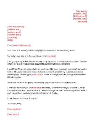 Basic HR Employee Cover Letter Sample