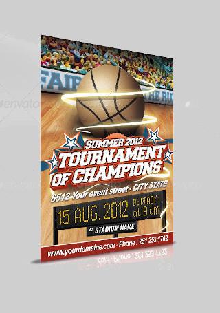 Basketball Event Flyer
