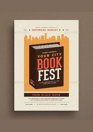 Book Festival Event Flyer