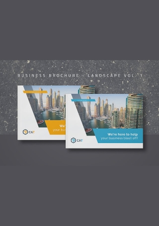 Business Brochure Landscape