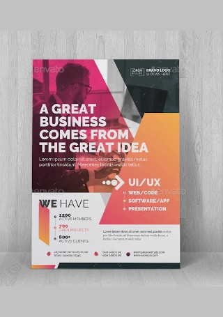 Classic Business Flyer Sample