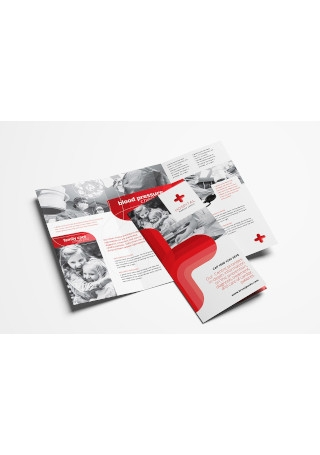 Classic Medical Trifold Brochure