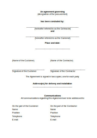 Condensed Sale and Purchase Agreement