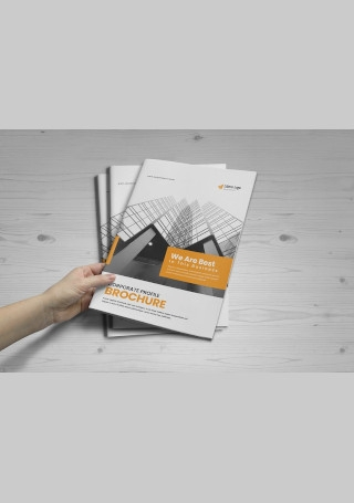 Corporate Business Brochure in Vector EPS