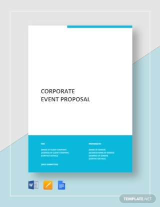 Corporate Event Proposal