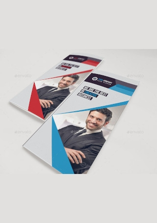 Corporate Marketing Trifold Brochure