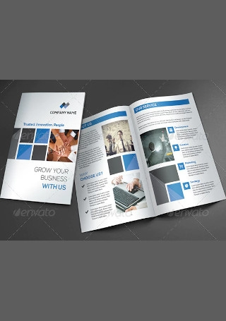Creative Business Brochure Sample