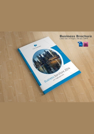 Creative Business Brochure in Vector EPS1