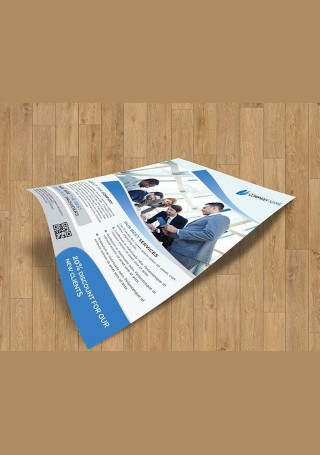 Creative Business Flyer InDesign