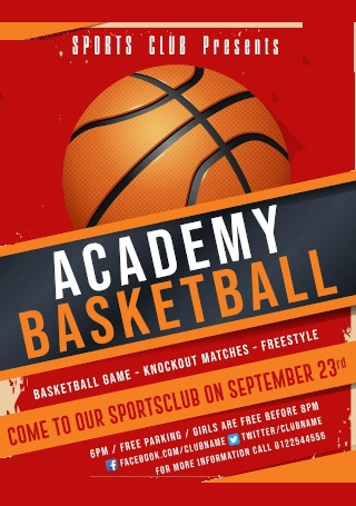 Creative Sports Event Flyer
