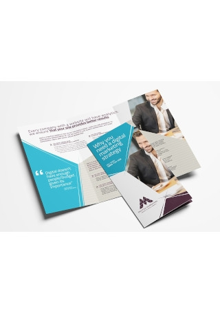 Digital Marketing Tri Fold Brochure