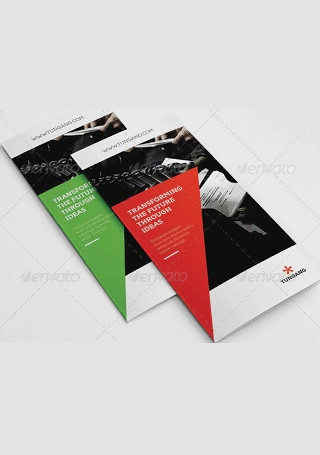 Elegant Business Brochure InDesign