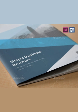 Elegant Business Brochure in Vector EPS