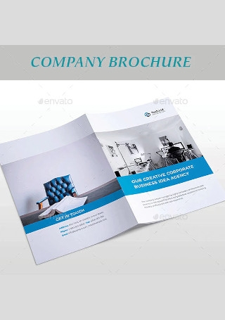 Elegant Company Brochure InDesign
