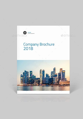 Elegant Company Brochure in Vector EPS