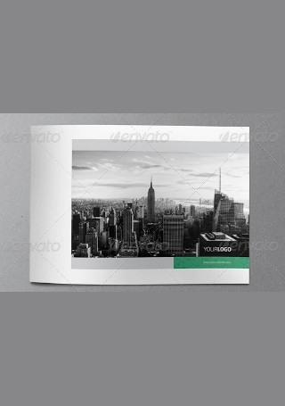 Elegant Real Estate Brochure in Vector EPS
