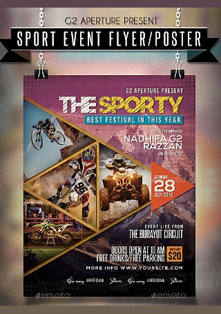 Elegant Sports Event Flyer