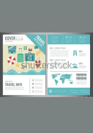 Elegant Travel Brochure InDesign