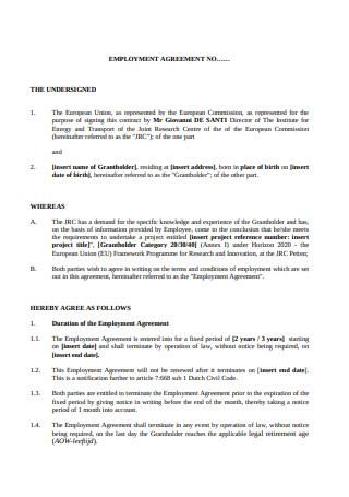 Employment Contract Under Dutch Employment Law