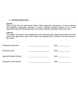 Formal Employment Contract
