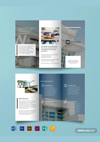 Free Commercial Real Estate Brochure Template