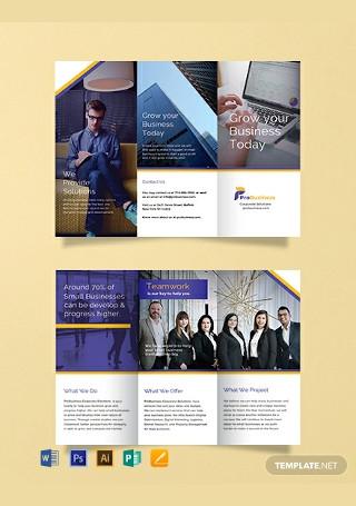 Free Corporate Business Brochure Template