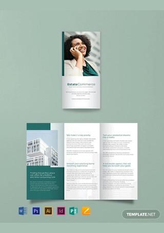 Free Corporate Real Estate Brochure Template