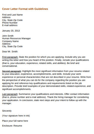 HR Marketing Manager Cover Letter