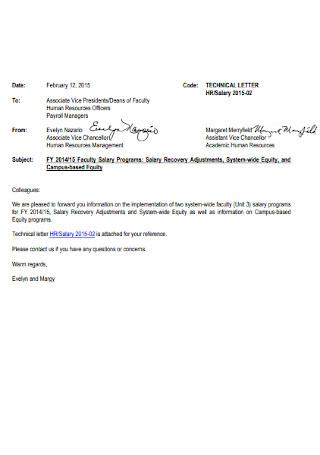 HR Officer Cover Letter Sample