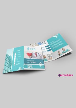 Hospital Bi Fold Brochure
