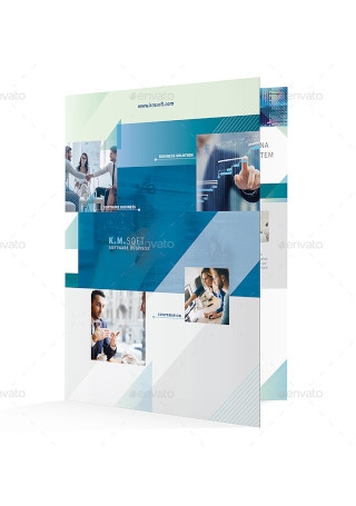 IT – Software Company Bifold Brochure