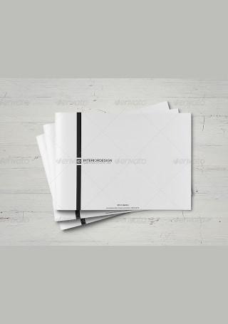 Interior Design Brochure in Vector EPS