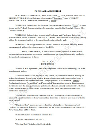 License Purchase Agreement