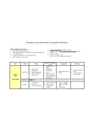 Managing Customer Relationships Through Direct Marketing