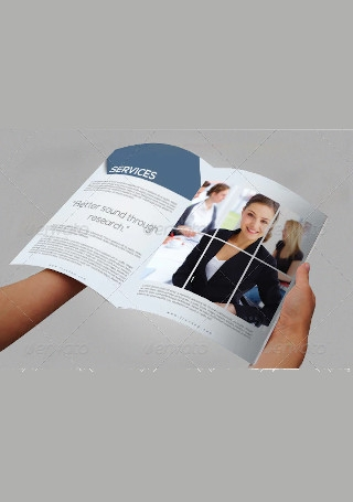 Marketing Brochure InDesign