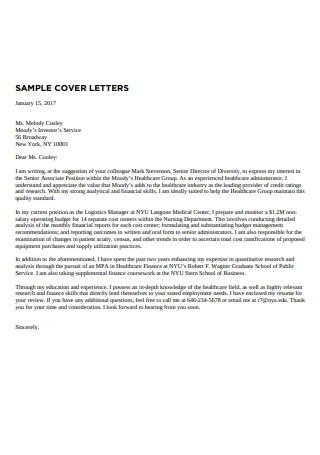Marketing Employee Cover Letter