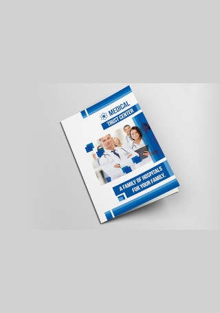 Medical Bifold Brochure InDesign