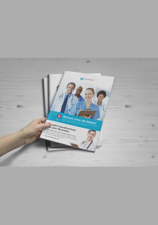 Medical Healthcare Brochure InDesign