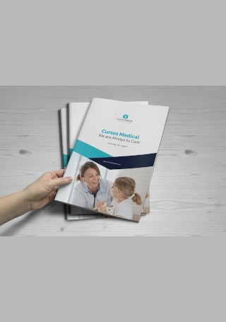 Medical Healthcare Brochure Sample