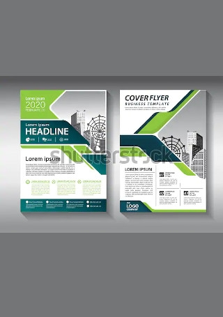 Minimal Business Brochure InDesign1