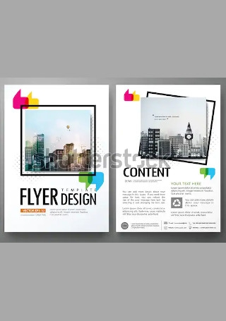 Minimal Business Flyer InDesign