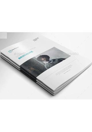 Minimal Company Brochure
