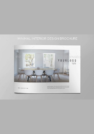 Minimal Interior Design Brochure