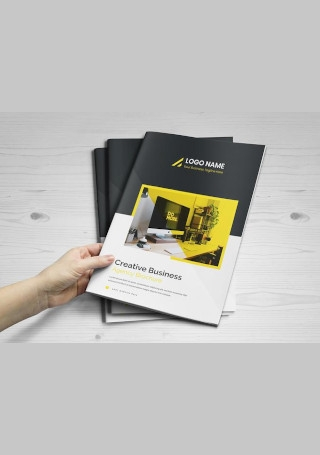 Modern Bifold Business Brochure