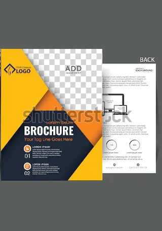 Modern Business Brochure InDesign