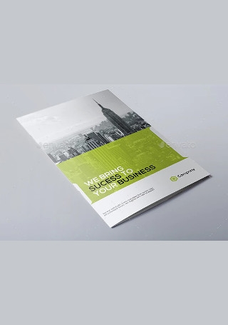 Modern Business Brochure in Vector EPS