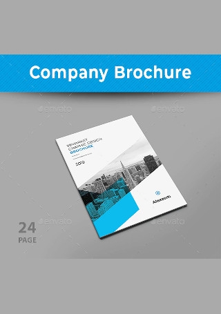 Modern Company Brochure In Design