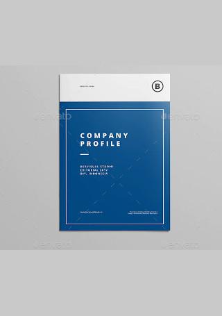 Modern Company Profile Brochure