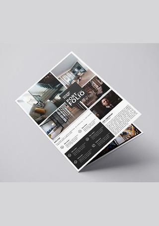 Modern Interior Design Brochure