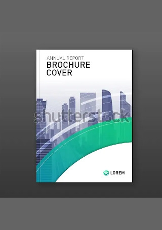 Modern Real estate brochure InDesign
